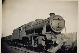 Steam trains hauled coal and other goods. This London Midland and Scottish locomotive was withdrawn in 1968, the year the Varsity Line closed. Photograph courtesy of Bedfordshire and Luton Archives Service.