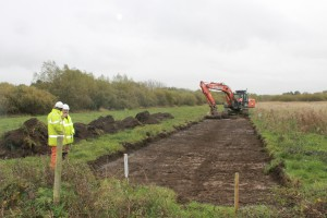 6.11.13c Top soil stripping 4 new ditch